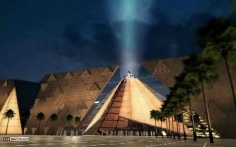 """The opening ceremony of the fourth pyramid on the Giza plateau, """"The Grand Egyptian Museum,"""" VIP, with 10 thousand dollars!"""