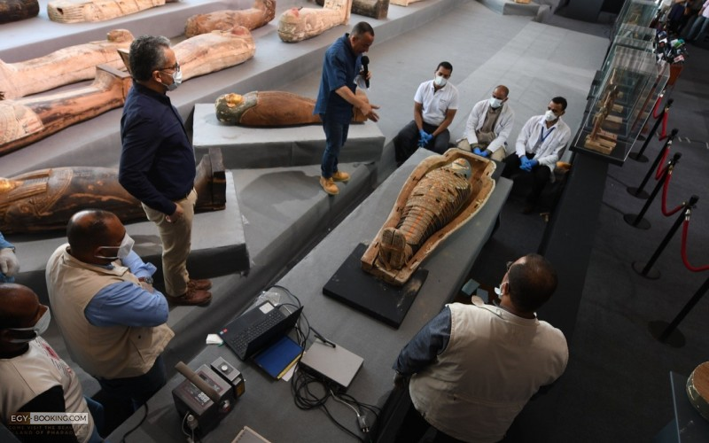 A new archaeological discovery in the Saqqara
