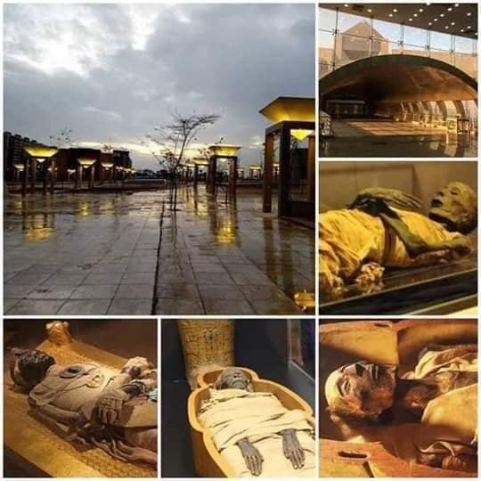 Egypt is preparing for the most luxurious funeral procession in history.